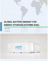 Battery Market for Energy Storage Systems (ESS) 2019-2023