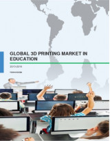 Global 3D Printing Market in Education: Research Report 2015-2019