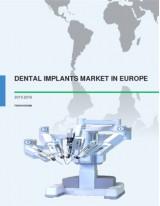 Dental Implants Market in Europe 2015-2019